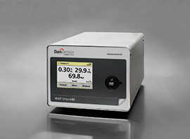 On-line gas analyser for quality assurance on MAP-enabled flow packaging machines